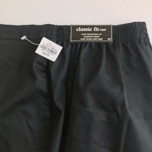 Alfred Dunner elastic waist and wide leg NEW